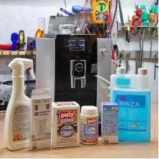 Самостоятельная декальцинация и чистка кофемашины от кофейных отложений